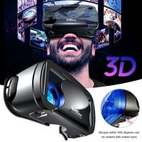 Virtual-Reality-Brille 3D VR Brille 5 7-Zoll-Smartphone Filme 3D-Spiele Home Handy Filme