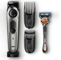Braun BT 7940 TS - Bart-/Haarschneider inkl. Kulturtasche und 2 Aufsätzen