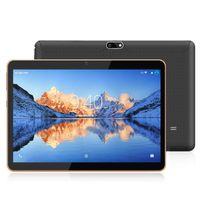 YOTOPT Tablets 10 zoll, android 9.0, 4GB RAM, 64 GB ROM, Quad Core, 5Mp + 2MP Kamera, 1280*800 IPS, Wi-Fi + LTE, Bluetooth, GPS, X109, Farbe: Schwarz