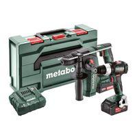 Metabo Akkuset Combo 2.5.2 18V BS 18 LT BL + BH 18 LTX BL 16 CAS Mafell