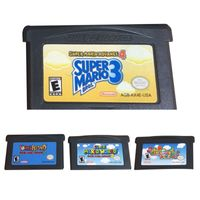 US-Version Bros Advance 2/3/4 Game Cards Cartridge fš¹r NS GBA Super Mario Advance 2