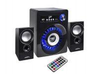 Audiocore AC910 Portable Speaker 10 W 2.1 Portable Speaker System Black