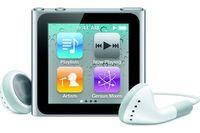 """Apple iPod nano 8Gb Silver iPod nano, Flash-media, 8 GB, 39.1 mm (1.54 """"), 240 x 240 Pixel, AAC, MP3, WAV, 3.5 mm"""