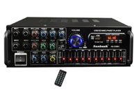 2000W HiFi Verstärker Bluetooth Vollverstärker Digital Audio Amplifier FM Auto EU plug
