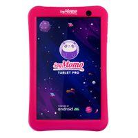 Kinder Tablet - SoyMomo Tablet PRO mit Kindersicherung & KI Tablet für Kinder ab 4 Jahre 8 Zoll Android 10 WiFi Bluetooth 32 GB Speicher 2 GB RAM Kamera mit kindgerechter Schutzhülle (Rosa)