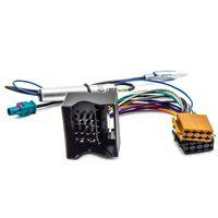 Radioadapter Phantomspeisung für Citroen C2 C3 C4 C5 DS3 DS4 Peugeot 207 307 407 607 ab 2004