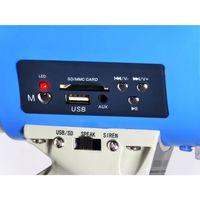 Megafon ''MEG-60USB'' mit Sirene & USB/SD Steckplatz