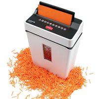 Olympia PS 53 CC Aktenvernichter (Partikelschnitt 4 x 40 mm, bis zu 6 Blätter 80g/qm oder eine Kreditkarte gleichzeitig) Farbe: weiss