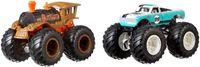 MATTEL Hot Wheels Monster Trucks 1:64 Die-Cast 2er-Pack Sortiment FYJ64 - Neu /