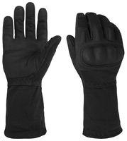Action Gloves mit Stulpe, flammhemmend mit Nomex® - Schwarz - M