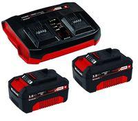 Einhell 2x 3,0Ah Akku & Twincharger Kit PXC-Starter-Kit Ersatzakku Ladegerät