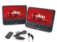 Caliber Tragbarer 17,8Cm (7 Zoll) Dvd Player+Monitor Mpd278 (Set mit 2 Bildschirmen und 1 integrierten DVD-Player)