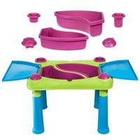 Curver Keter aufklappbarer Spieltisch für Kinder Sand Kindertisch