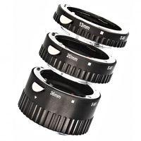 Automatik Zwischenringe 3-teilig fuer Makrofotographie passend zu Sony Alpha A57, A58, A65, A77, A99, A100, A200, A230, A290 (Metall Bayonett) + 1x IR Auslöser