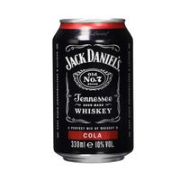 Jack Daniels Cola Tennessee Whiskey Mixgetränk Jacky Cola 330ml