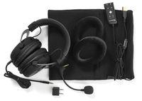 HyperX Cloud II, Kopfhörer, Kopfband, Gaming, Schwarz, Binaural, Externes Steuergerät