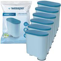 6x Wasserfilter kartusche für Saeco PicoBaristo CA6903/00 AquaClean Kalk- und Wasserfilter