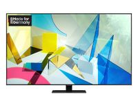 Samsung 4K Ultra HD QLED TV 138 cm (55 Zoll) GQ55Q80TGT, Sprachassistenten, Smart-TV, HDR10+