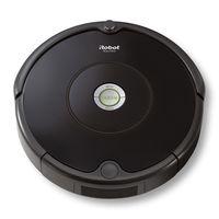 iRobot Roomba 606, Beutellos, Schwarz, Rund, 0,6 l, Teppich, Harter Boden, Lithium-Ion (Li-Ion)