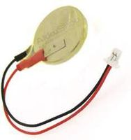 AccuCell CMOS Batterie CR2032 mit Stecker, Backup Lithium Batterie
