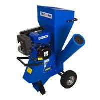 DENQBAR 11 kW (15 PS) Gartenhäcksler, Gartenschredder mit Benzinmotor