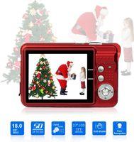 Digitalkamera mit 8x Digitalzoom Digitalkamera Geschenkkamera Digitalkamera für Kinder, 92,2x60,2x14MM, rot