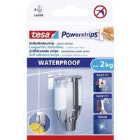 tesa Powerstrips Klebepads LARGE WATERPROOF weiß