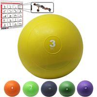 Slamball I Medizinball 3 - 20 kg I Slam Ball versch. Farben Gewicht: 3 kg