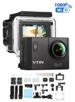 Action Sport Kamera WIFI Full HD 1080P 2' Weitwinkel 170° Wasserdicht SDHC Cam