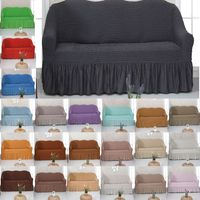 1-4 Sitze Sofabezug Sofahusse Sesselbezug Sitzbezug Sesselüberwurf Stretchhussen