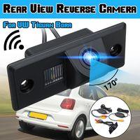 170 ° kabelloses Rückfahrkamera-Rückfahrkamera-Set für VW Tiguan Bora Porsche Cayenne