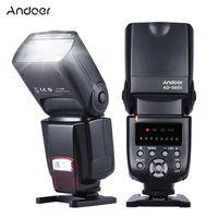 Andoer AD-560¢ò Universal-Blitz Speedlite On-Kamera Flash-GN50 w / Adjustable LED Fill Light fuer Canon Nikon Olympus Pentax DSLR-Kameras