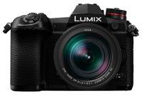 Panasonic Lumix G9 + LEICA DG VARIO 12-60mm, 20,3 MP, 5184 x 3888 Pixel, Live MOS, 4K Ultra HD, Touchscreen, Schwarz