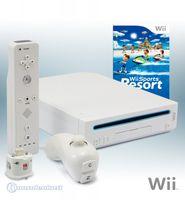 """Nintendo Wii """"Sports Resort Pak"""" - Konsole inkl. Wii Sports, Wii Sports Resort + Motion Plus, weiß"""