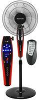 Echos Standventilator mit Fernbedienung | Oszilierender Ventilator | Windmaschine | 41 cm | oszilierend | 45 Watt