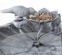 Vögeltränke Stein Look stehend 85cm