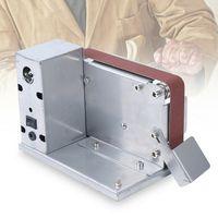 Desktop Bandschleifer Schleifer  Schleifmaschine Polierschleifmaschine    Schleifmaschine Bandschleifmaschine  mit 795 Motor DIY Polieren Schleifen Silber Maschine