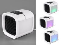 LED Tischventilator mit Wassertank & USB Anschluß Lüfter Sprühnebel Kühlfunktion