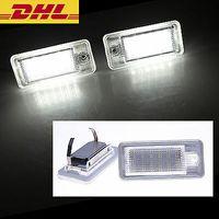 2x LED Kennzeichen Beleuchtung für Audi A4 8E B6 B7 A3 8P A6 4F Q7 keine Fehlermeldung