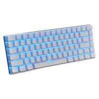 AJAZZ AK33 Mechanische Tastatur 82 Tasten Blau Schwarz Schalter USB-Kabel Mechanische Tastatur Monochromatische Hintergrundbeleuchtung