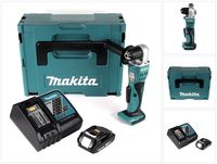 Makita DDA 351 RE1J Akku Winkelbohrmaschine 18V 13,5Nm + 1x Akku 3,0Ah + Ladegerät + Makpac