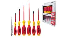 Wiha SoftFinish® electric Schlitz/Phillips Schraubendrehersatz, 7-tlg. (320N K7)