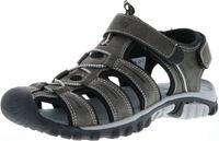 ConWay Damen Herren Trekkingsandalen Outdoorschuhe anthrazit/schwarz, Größe:42, Farbe:Anthrazit
