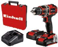 Einhell Power X-Change Akku-Bohrschrauber TE-CD 18/50 Li BL (2x2,0Ah)