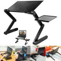 1 Stk Tragbare Laptop-Schreibtisch Klapptisch Laptoptisch Ständer Computertisch Notebooktisch Betttisch Faltbar Laptopständer