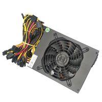 2000W Mining Netzteil PC 8 GPU-Karten unterstützen Ethereum Mining Bitcoin Miner PSU Active PFC