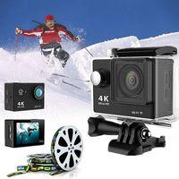 Action Kamera 1080P Ultra HD 4K WiFi Helm wasserdichte Sportkamera