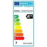 Osram LED Filament Classic A60 Birne 4W (40W) klar E27 warmweiß 3er-Pack