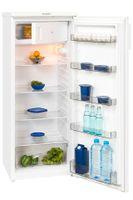 Exquisit Kühlschrank KS 315-4  | 225L(210/15)L Fassungsvermögen | Energieeffizenz++ | Weiß