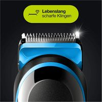 Braun MGK 3242 MultiGroomingKit Bartschneider schwarz/blau
